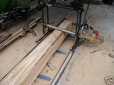 """30"""" portable chainsaw sawmill  , proudly made in America"""