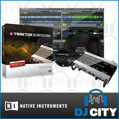 Native Instruments Scratch A10 Traktor DVS Digital Vinyl DJ System