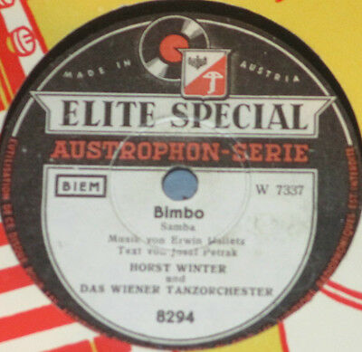 78rpm/Elite Special 8294/HORST WINTER/BIMBO/RUMBA TAMBAH