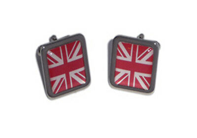 Red Union Jack Cufflinks