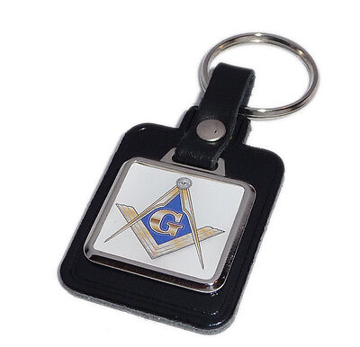 Masonic Key Ring - Blue & Gold