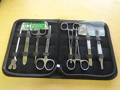 14 Pc Minor Surgery Student Kit Surgical Dental Forceps