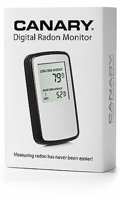 Canary Corentium Digital Electronic Radon Gas Monitor - Detector - Test - Tester
