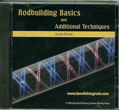 """Dvd """"rodbuilding Basics And Additional Techniques"""" By Ken Preston"""
