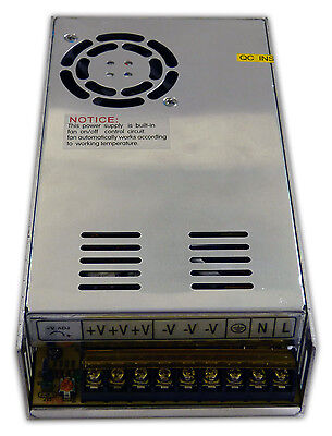 Genssi High Performance 12V DC 40A 480W Regulated Switching Power Supply 12 Volt