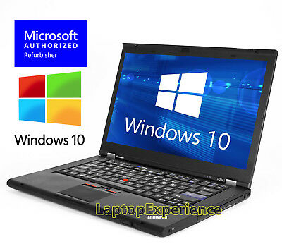 LENOVO LAPTOP T420s INTEL CORE i5 2.5GHz 128GB SSD HD WEBCAM WINDOWS 10 WIN WiFi