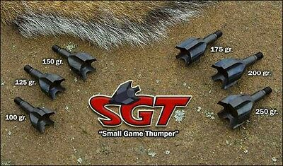 VPA SGT 12 Pack FREE SHIP! Screw-IN Choose your weight DOZEN Small Game Thumpers