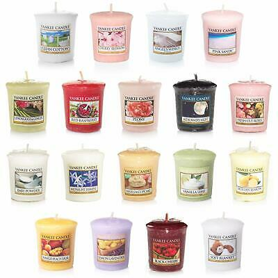 Yankee Candle Samplers / Votives  Mixed 1,5 , 10 , 15 ,Box of 18