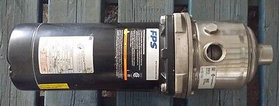 Franklin Electric Booster Pump 30FMH15S4, 30 GPM, 1.5HP