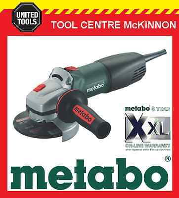 """METABO WQ-1000 5"""" / 125mm 1010W ANGLE GRINDER WITH QUICK NUT – MADE IN GERMANY"""