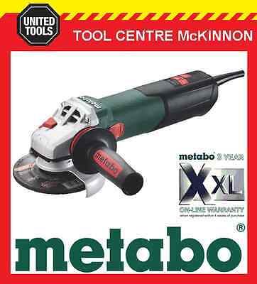 """METABO W12-125Q 5"""" / 125mm 1250W ANGLE GRINDER WITH QUICK NUT – MADE IN GERMANY"""