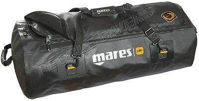 Mares Attack Titan Gear Bag waterproof Scuba W adjustable Handles & purge valve