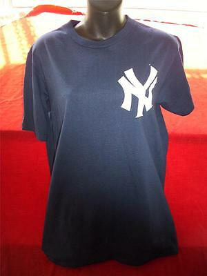 New York Yankies Majestic Black T Shirt In Great Condition Size S