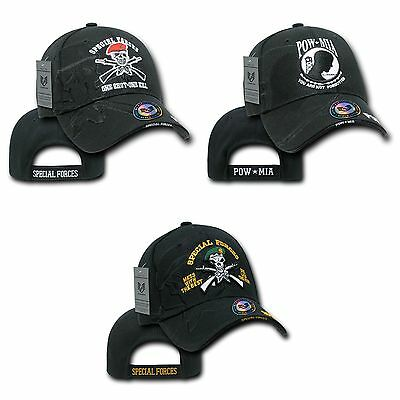 1 Dozen Special Forces POW Veteran Military Shadow Baseball Hats Caps Wholesale
