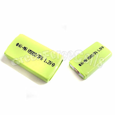 1 pc 500mAh 1.2V 2/3 F6 NiMH Gumstick Rechargeable Battery CD MD HI-MD