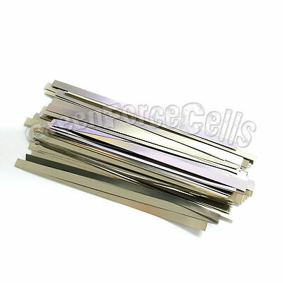 100 x 6.5cm Solder Tab For AA 10440 SubC 18650 battery
