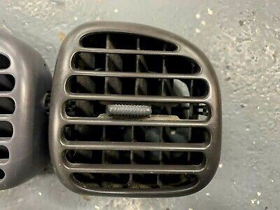 98-01 Dodge Ram Truck Dash Heater Vent Pass End Dark Gray Pickup 1500 2500 3500