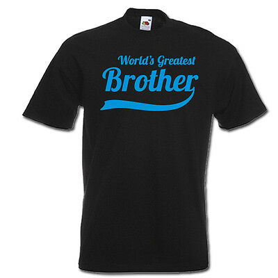 World's Greatest BROTHER new little, big, funny mens t-shirt birthday gift idea