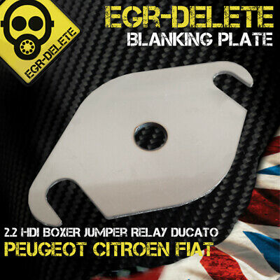 EGR blanking plate Peugeot BOXER 2.2 HDI  CITROEN Jumper  Relay FIAT Ducato hole