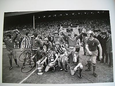 Liverpool Legend Phil Thompson 12 x 8 inch photo, personally signed by him