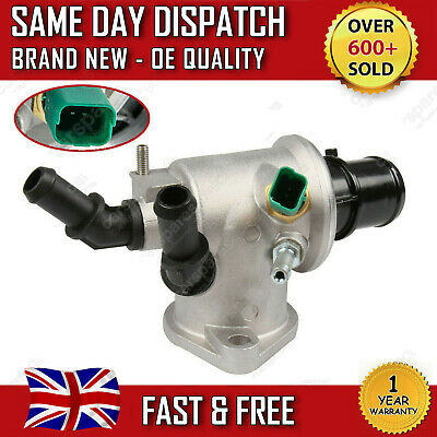 Vauxhall Astra H / Vectra C / Zafira B 1.9 Cdti Thermostat With Housing + Sensor