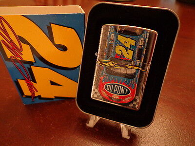 Jeff Gordon #24 Dupont Car Finishline Nascar Zippo Lighter Mint In Box