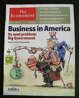 The Economist Magazine. May 30th - June 5th, 2009. Volume 391. Number 8633.