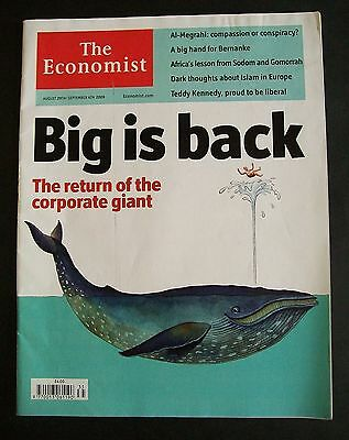 The Economist Magazine. August 29th - September 4th, 2009. Volume 392. No. 8646.