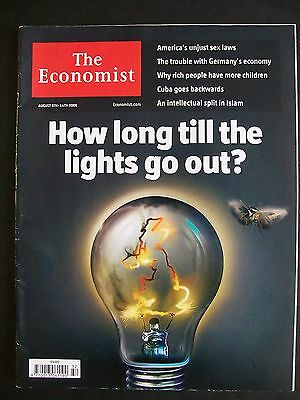 The Economist Magazine. August 8th - 14th, 2009. Volume 392. Number 8643.