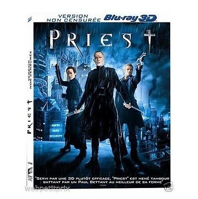 Priest 3D:  BLU-RAY 3D ACTIVE VF Neuf