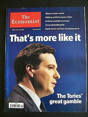 The Economist Magazine. October 10th - 16th, 2009. Volume 393. Number 8652.