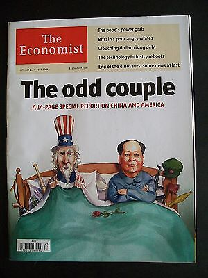 The Economist Magazine. October 24th - 30th, 2009. Volume 393. Number 8654.