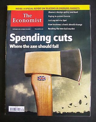 The Economist Magazine. September 26th - October 2nd, 2009. Volume 392. No. 8650