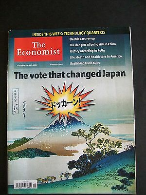 The Economist Magazine. September 5th-11th, 2009. Volume 392. Number 8647.