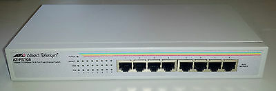 Allied Telesis AT-FS708 switch - Commutateur Fast Ethernet 8 ports 10/100 Mbs