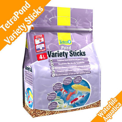 Tetra Pond Variety Sticks Goldfish & Koi - 4L & 7 Litres Sizes! Fast & Free P&P