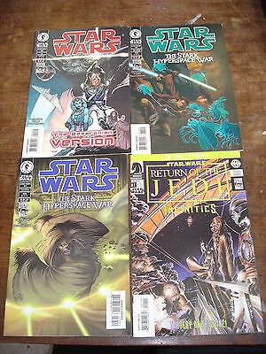 STAR WARS Lot de 4 comics