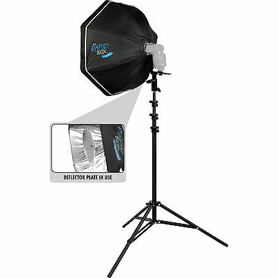 "Westcott Rapid Box 26"" Octa Speedlite Kit with Beauty Dish Deflector Plate 2035"