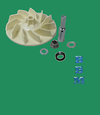 Kirby Vacuum Cleaner Fan Impeller Assembly Kit  #119096 SE DE ULTG G6 G5 G4 G3