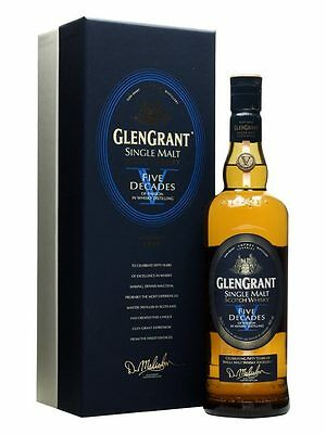 Glen Grant Five Decades Speyside Single Malt Scotch Whisky 700ml