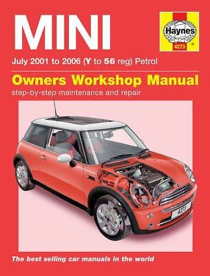 HAYNES SERVICE & REPAIR MANUAL MINI COOPER 2001-2006 (Y to 56) 4273