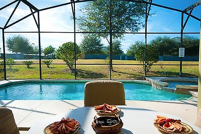1735 Florida villas for rent 4 bedroom home with pool and spa 10 night deal