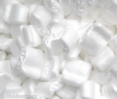 Packing peanuts s shaped polystyrene loose fill horticultural grade repels water