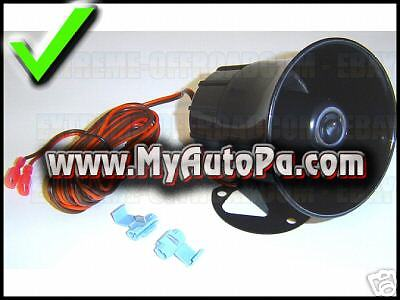 COGA PA System Auto/Truck/Car Music Horn ADD-ON SPEAKER