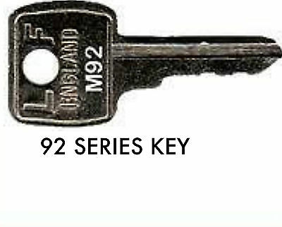 BISLEY VICKERS TRIUMPH RONEO KEYS CUT TO CODE NUMBER FILING CABINET KEYS