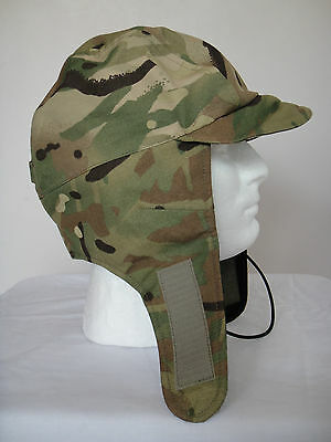 a0570385638 British Army MTP Cold Weather Hat Cap Size Medium New Paintballing Carp  fishing