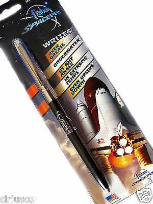Fisher Shuttle Space Pen with NASA Shuttle Imprint - Free Bonus Space Patch