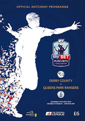 CHAMPIONSHIP PLAY OFF FINAL  2014 QPR v Derby County