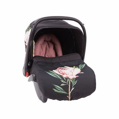 Baby Car Seat Kikka Boo Leilani 0-13kg From Birth High Quality Vintage Flowers