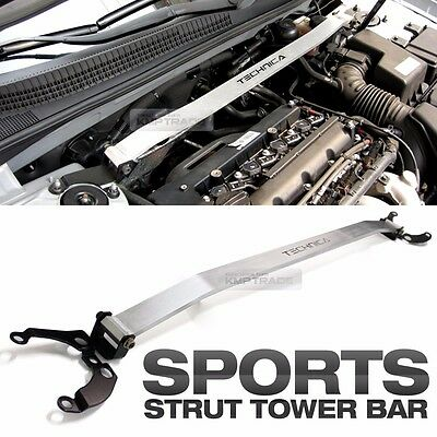 Aluminum Silver Strut Tower Brace Bar Upper For HYUNDAI 2006-2010 Accent Solaris